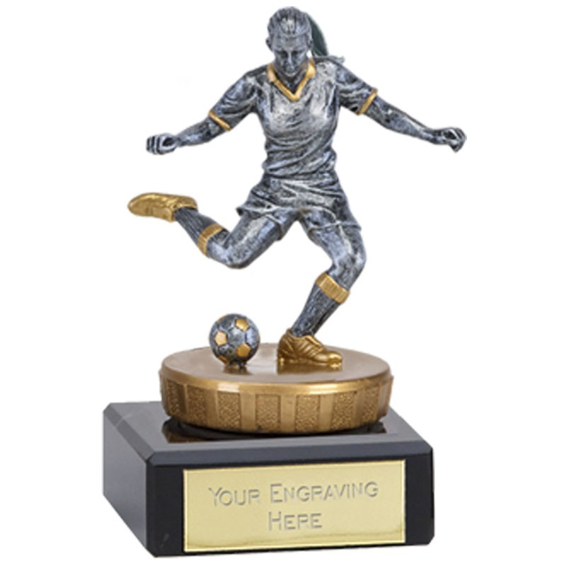 Classic Female Footballer Flexx