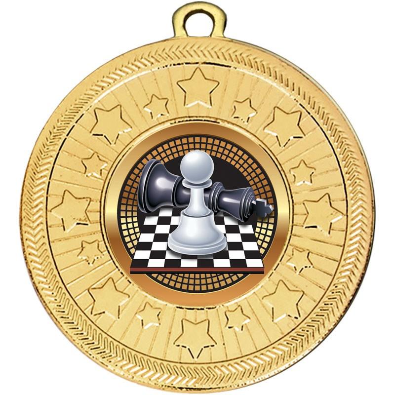 VF Star Chess Medal