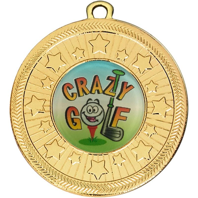 VF Star Crazy Golf Medal