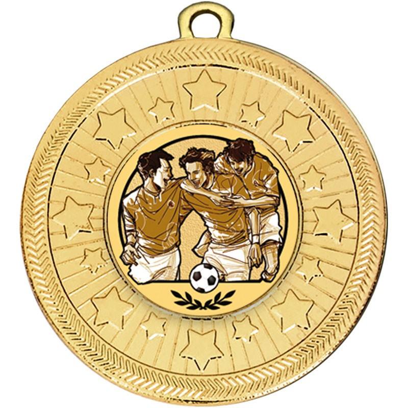 VF Star Football Kids Medal