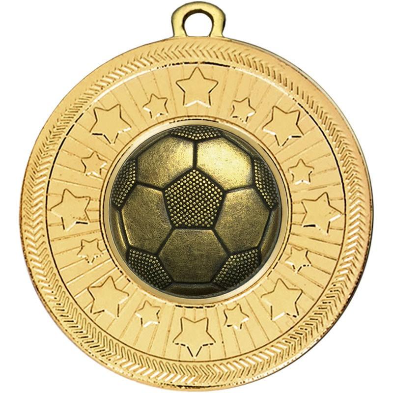 VF Star Football Boot & Ball Medal