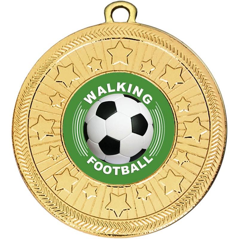 VF Star Walking Football Medal