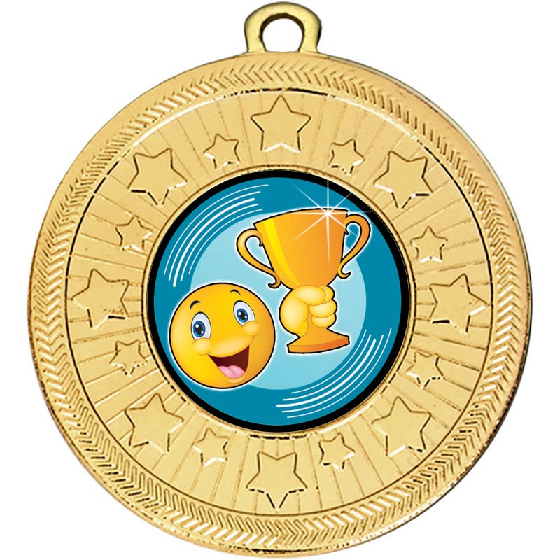 VF Star Smiley Cup Medal