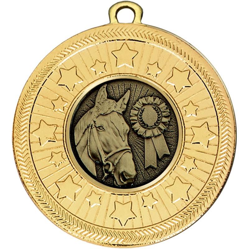 VF Star Equestrian Medal
