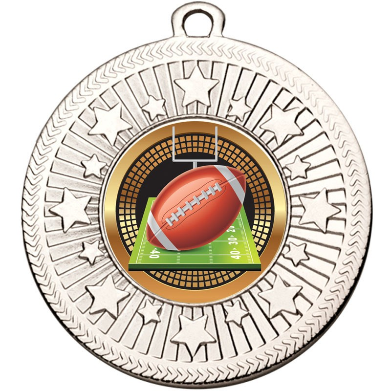 VF Star American Football Medal