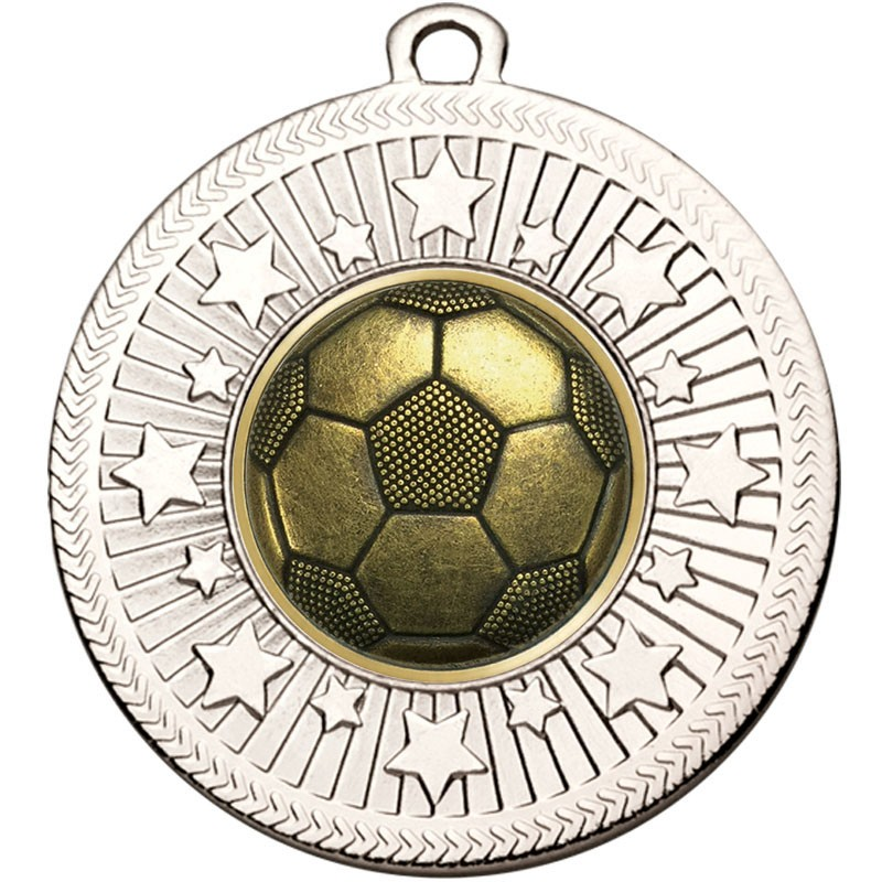 VF Star Football Boot & Ball Medal