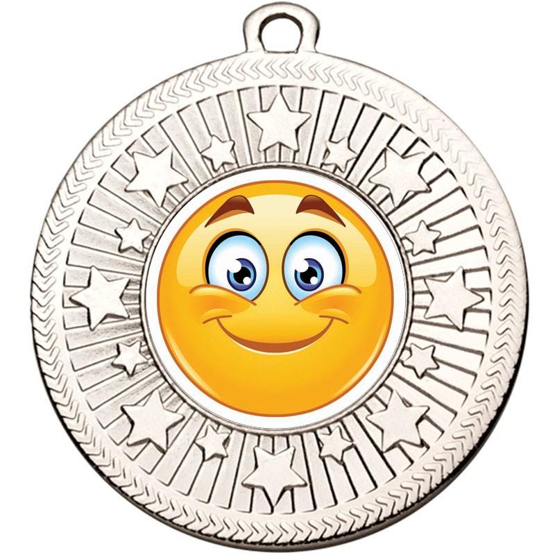 VF Star Smiley Grin Medal