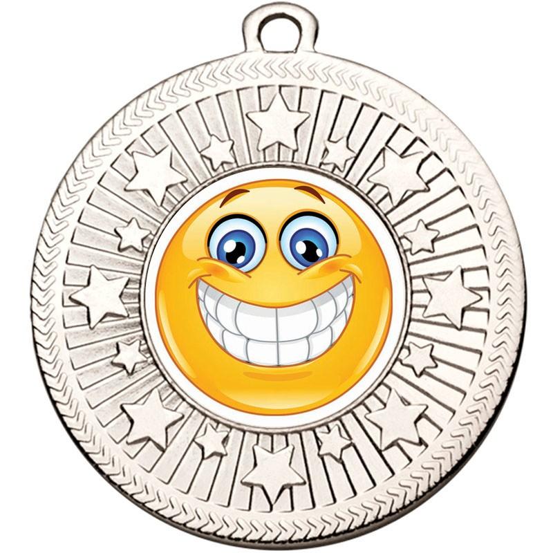 VF Star smiley Teeth Medal