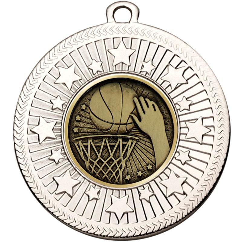 VF Star Basketball Medal
