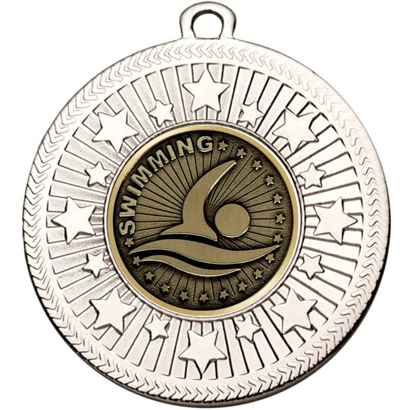 VF Star Swimming Medal