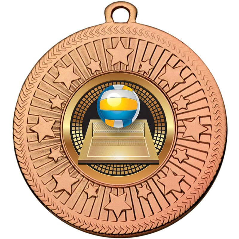 VF Star Volleyball Medal