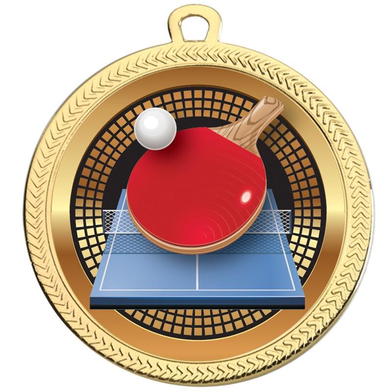 VF60 Table Tennis Medal