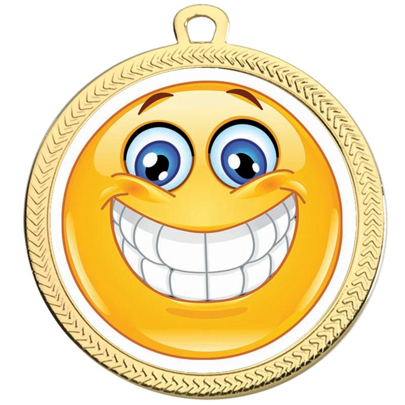 VF60 smiley Teeth Medal