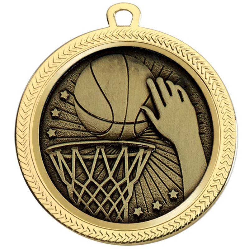 VF60 Basketball Medal