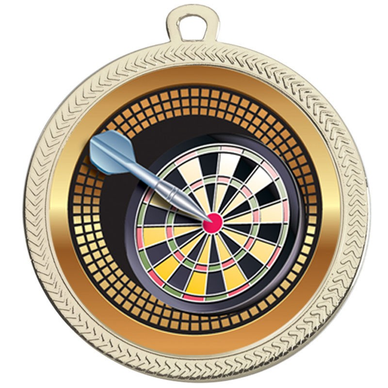 VF60 Darts Medal