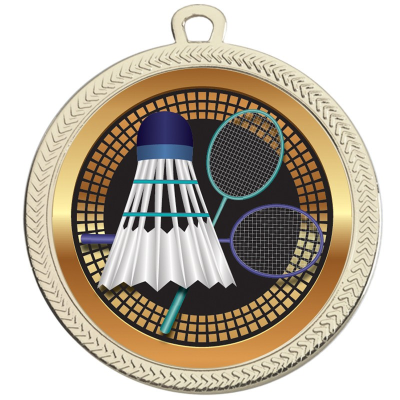 VF60 Badminton Medal