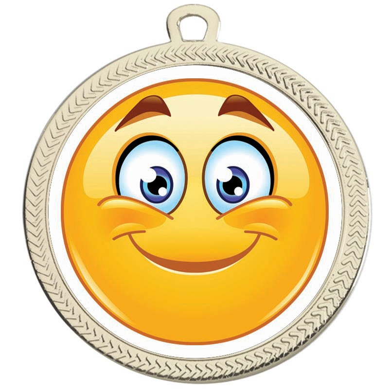 VF60 Smiley Grin Medal