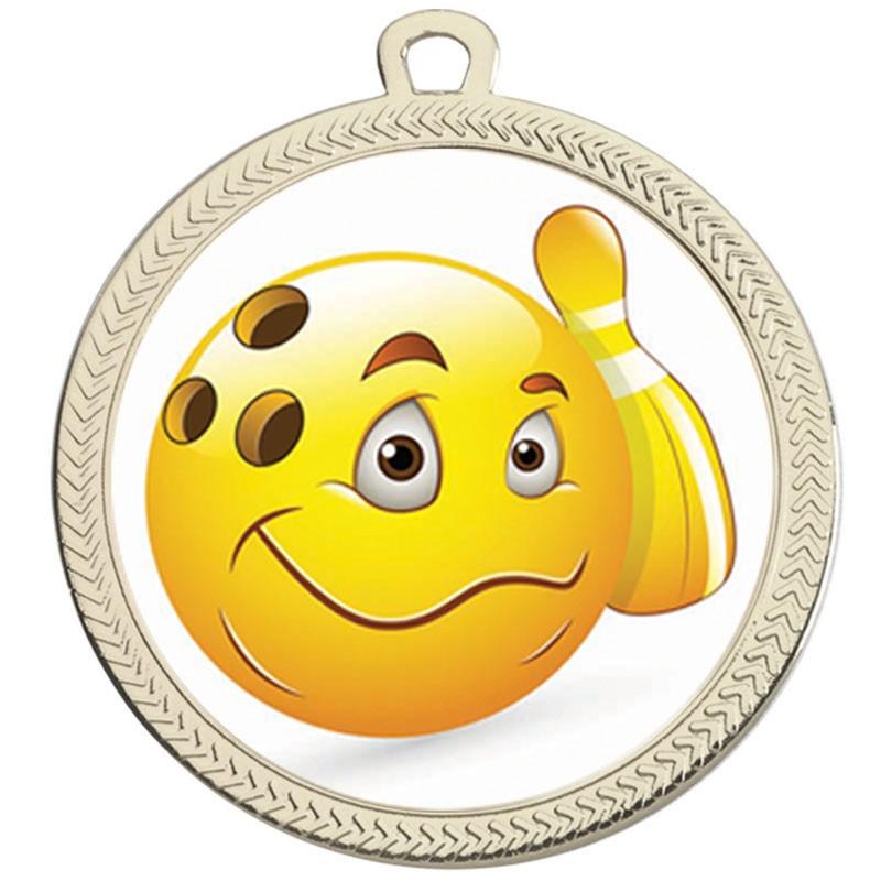 VF60 Ten Pin Bowling Medal