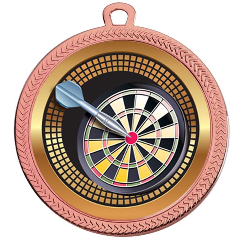 VF60 Darts Medal