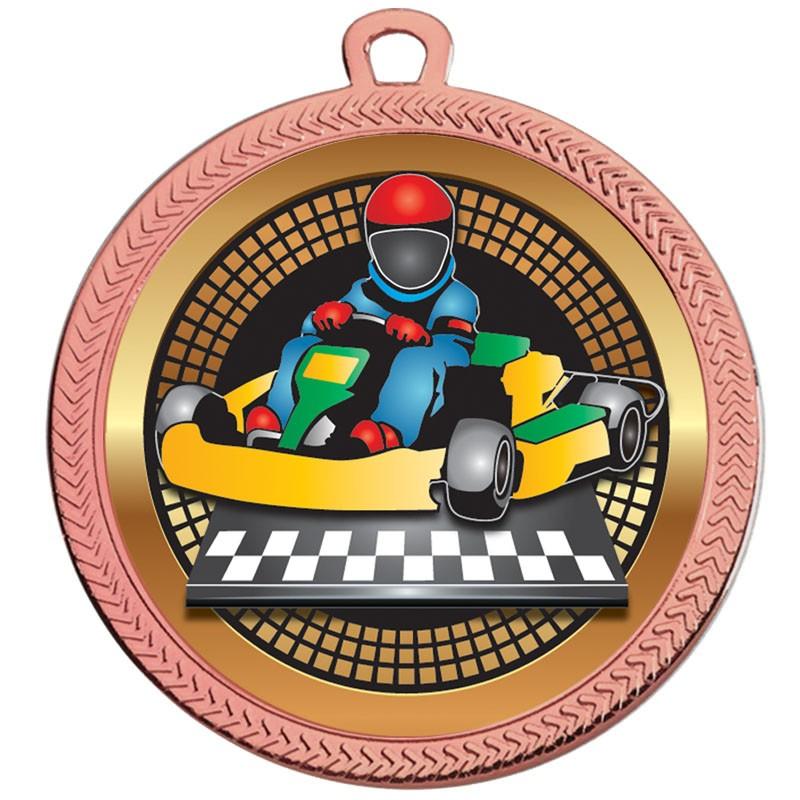 VF60 Go Kart Medal