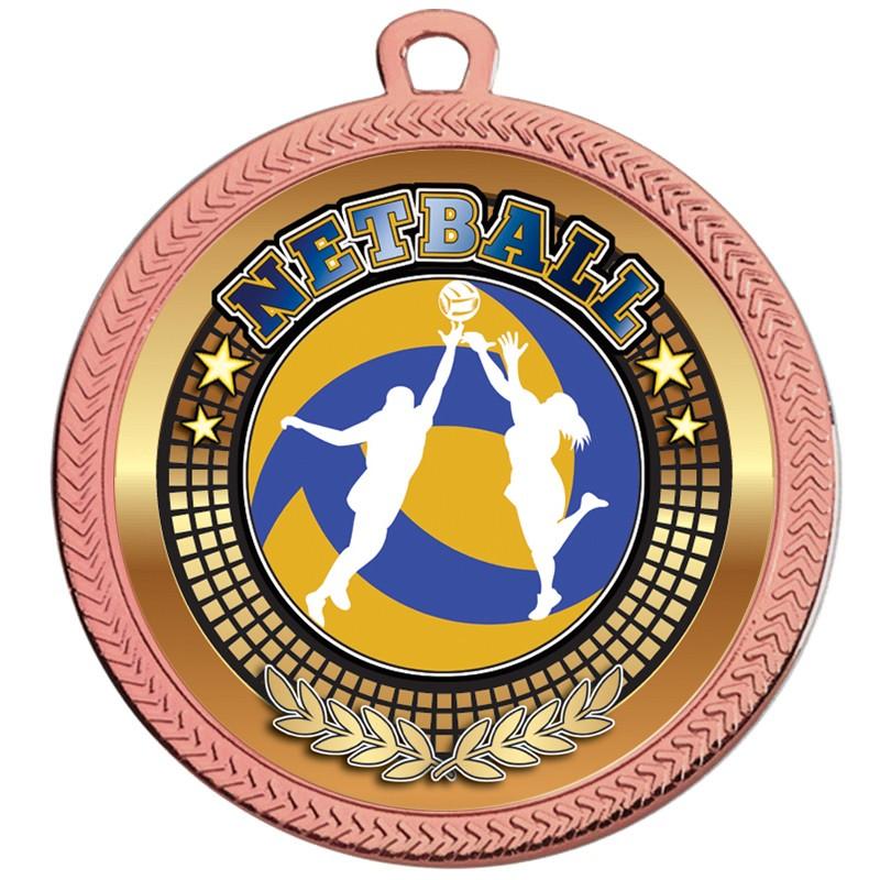VF60 Netball Medal