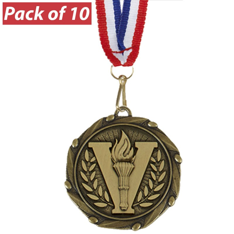 Pack of 10 Combo Medals