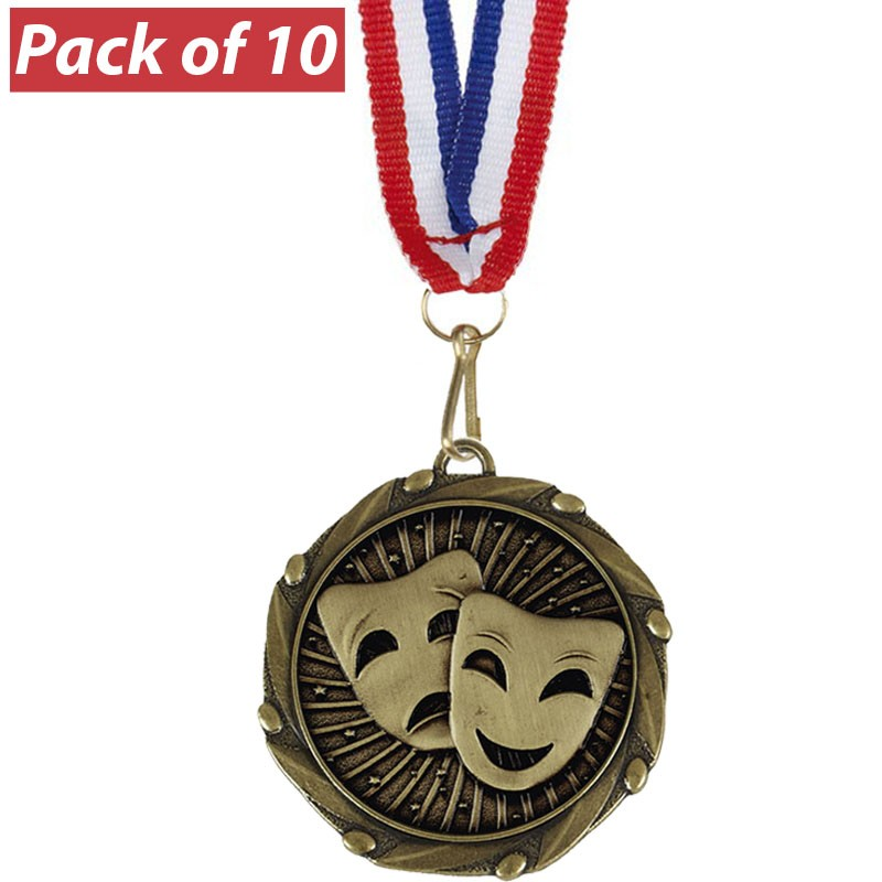 Pack of 10 Drama Combo Medals