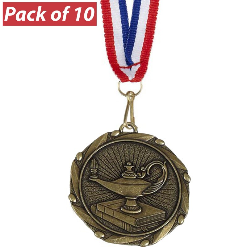 Pack of 10 Quiz Combo Medals