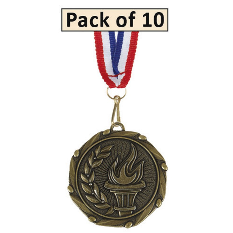 Pack of 10 Achievement Combo Medals