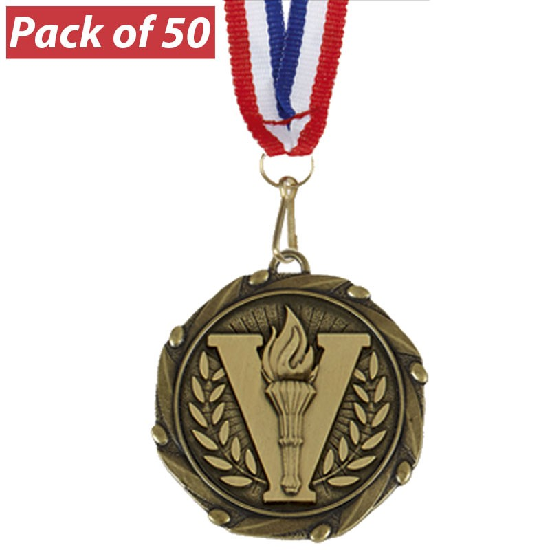 Pack of 50 Combo Medals