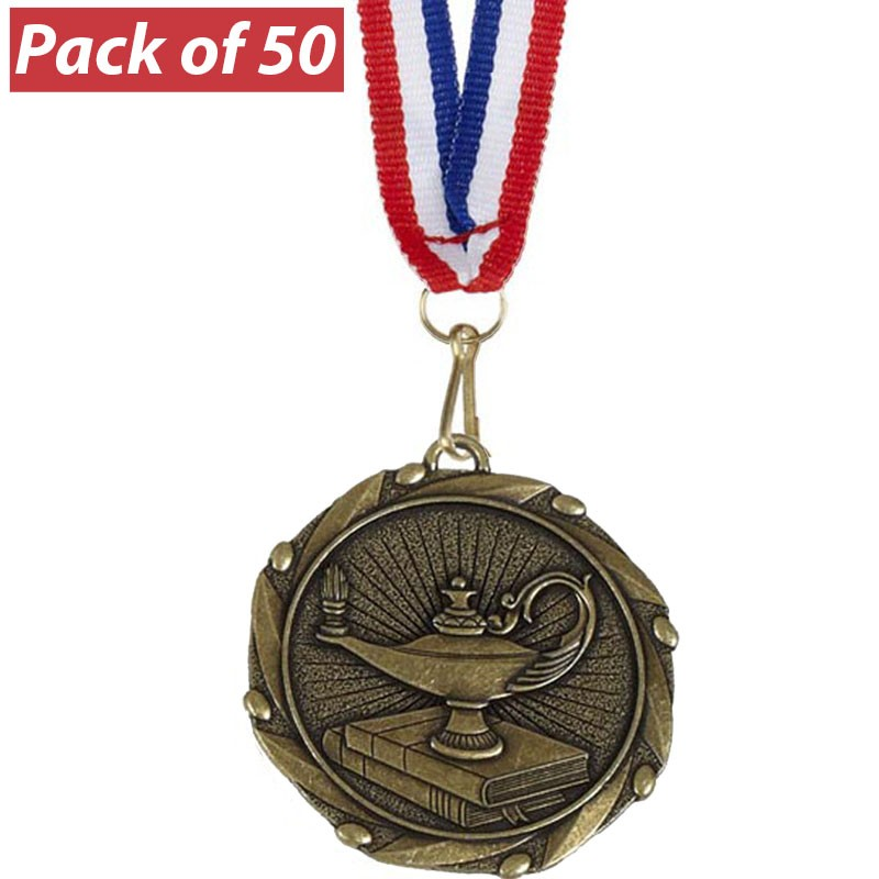 Pack of 50 Quiz Combo Medals