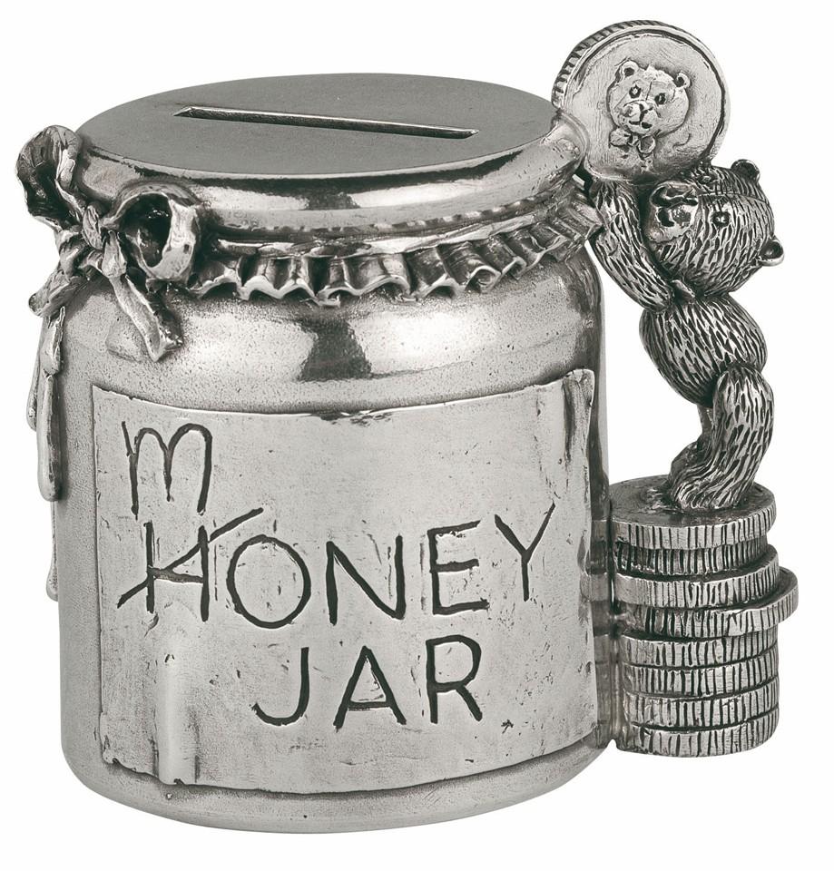Coin box, money jar