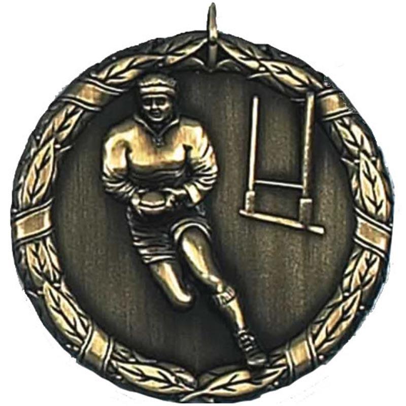 Laurel50 Rugby Medal