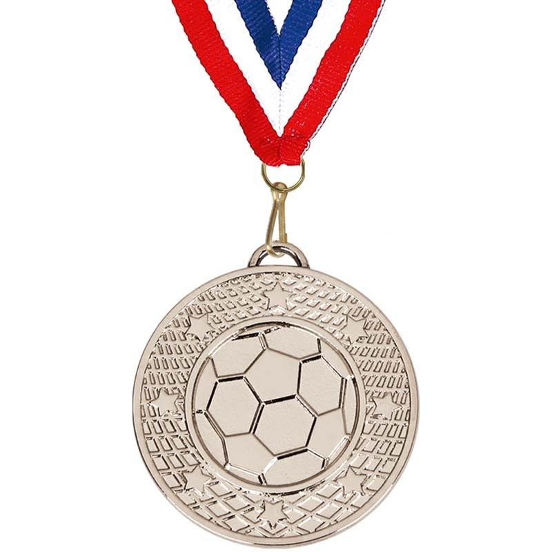 Target50 Football Medal with RWB