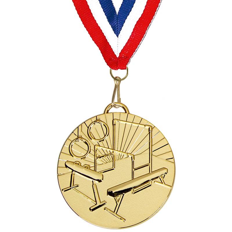 Target50 Gymnastics Medal with RWB