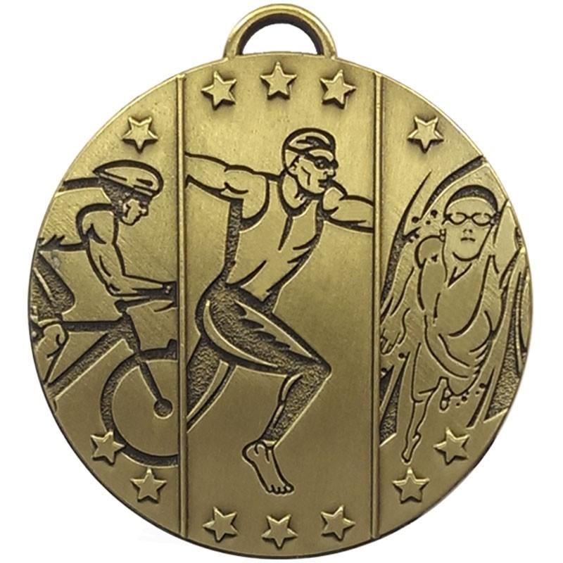 TARGET Triathlon Medal