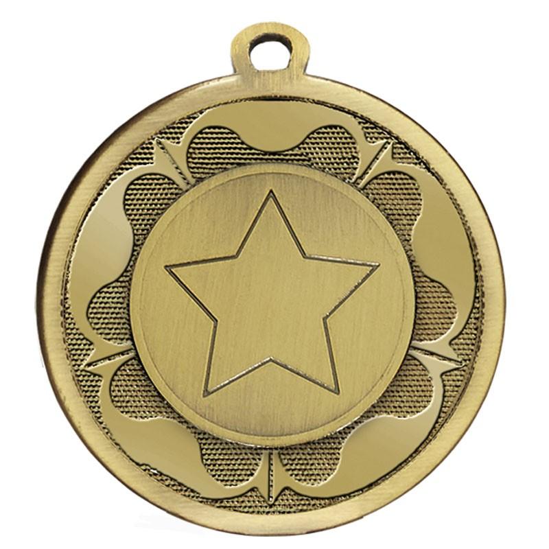 GALAXY Tudor Rose Medal