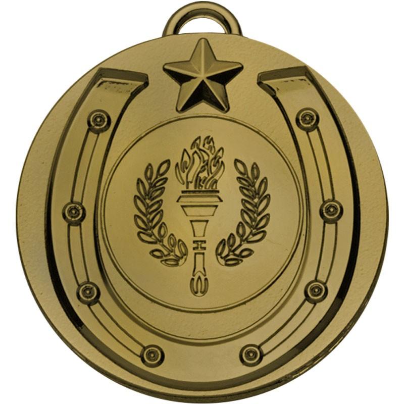 Target50 Horse Shoe Medal