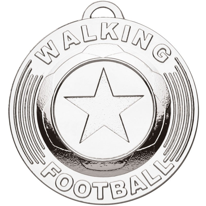 Target50 Walking Football Medal