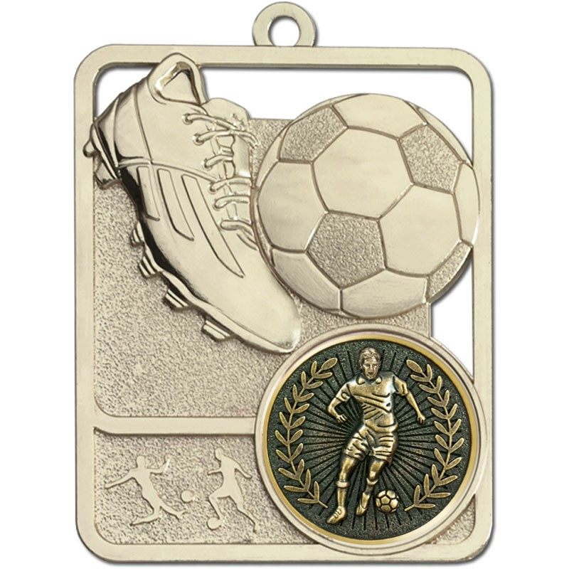 Football Boot & Ball Medal