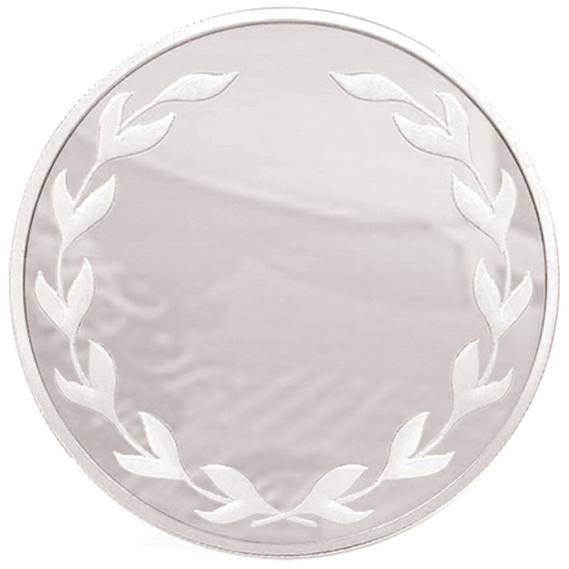 Frosted Glacier Laurel Medal