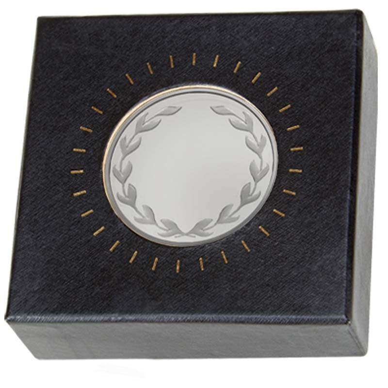 Nordic Laurel Medal in Clear case