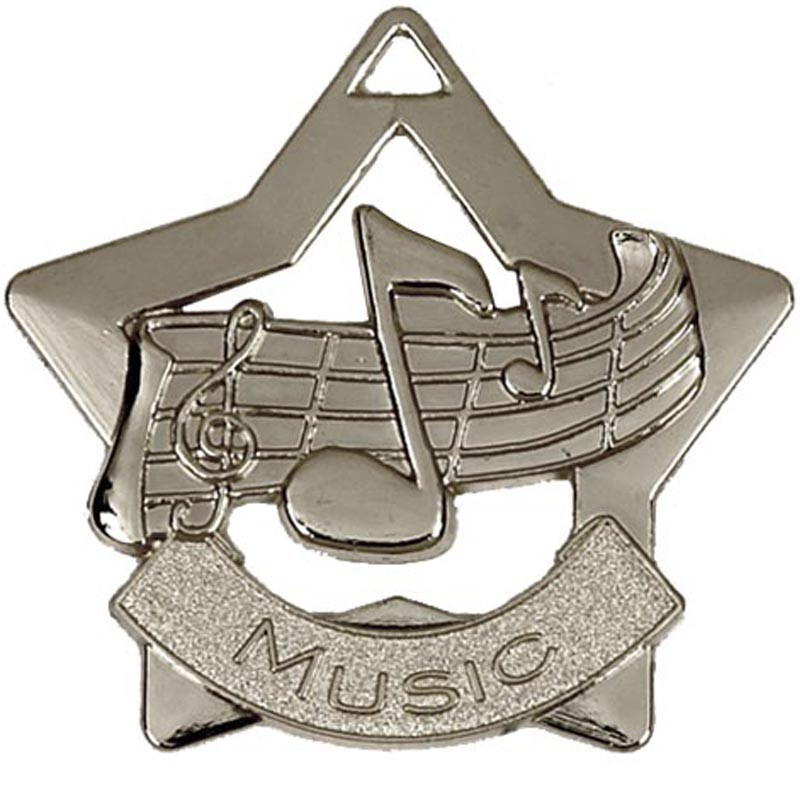 Mini Star Music Medal