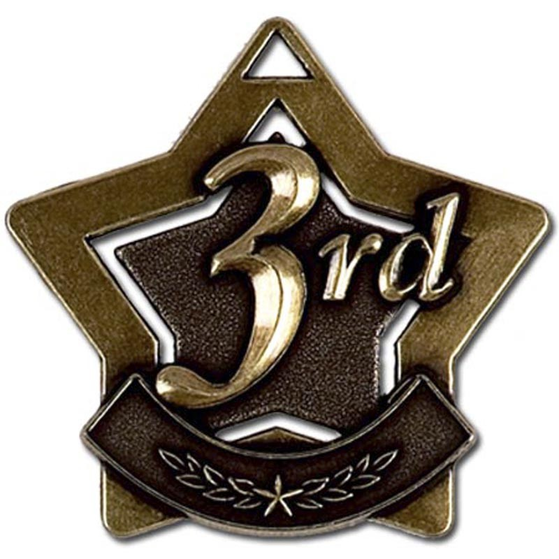 Mini 3rd Place Star Medal