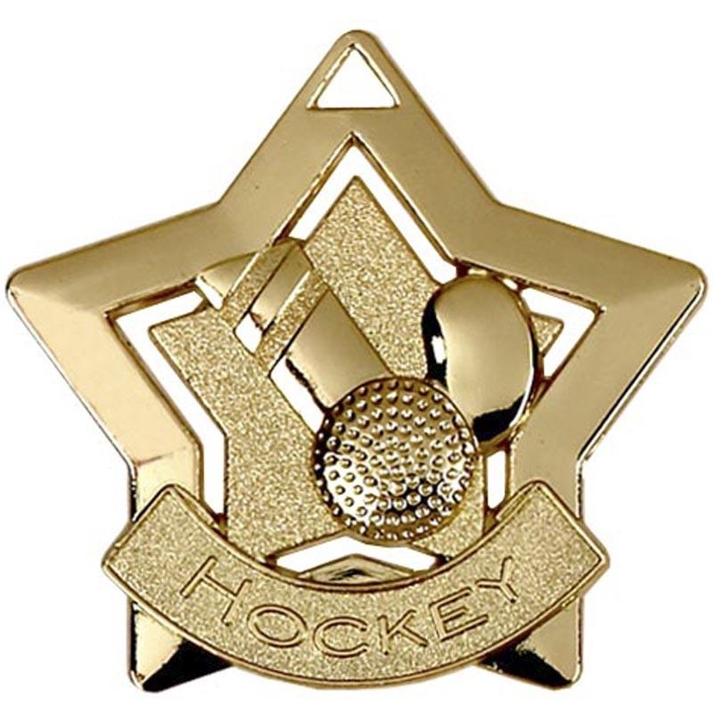 Mini Star Hockey Medal