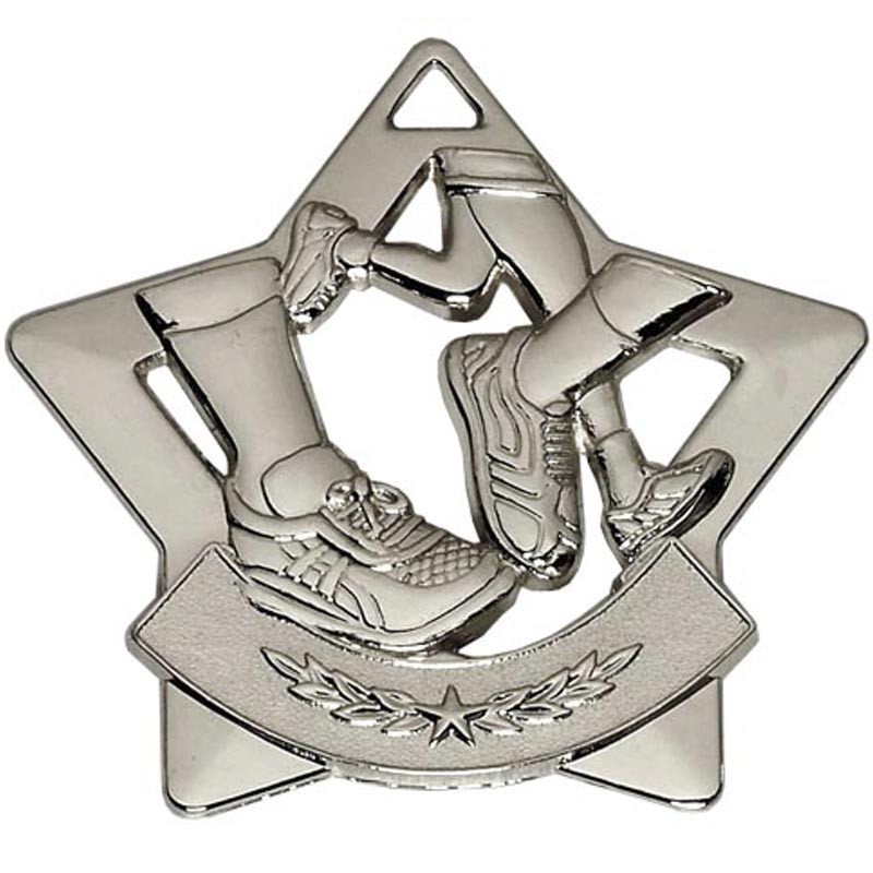Mini Star Running Medal