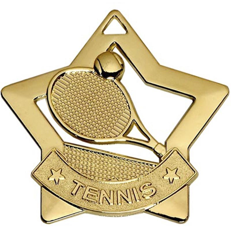 Mini Star Tennis Medal