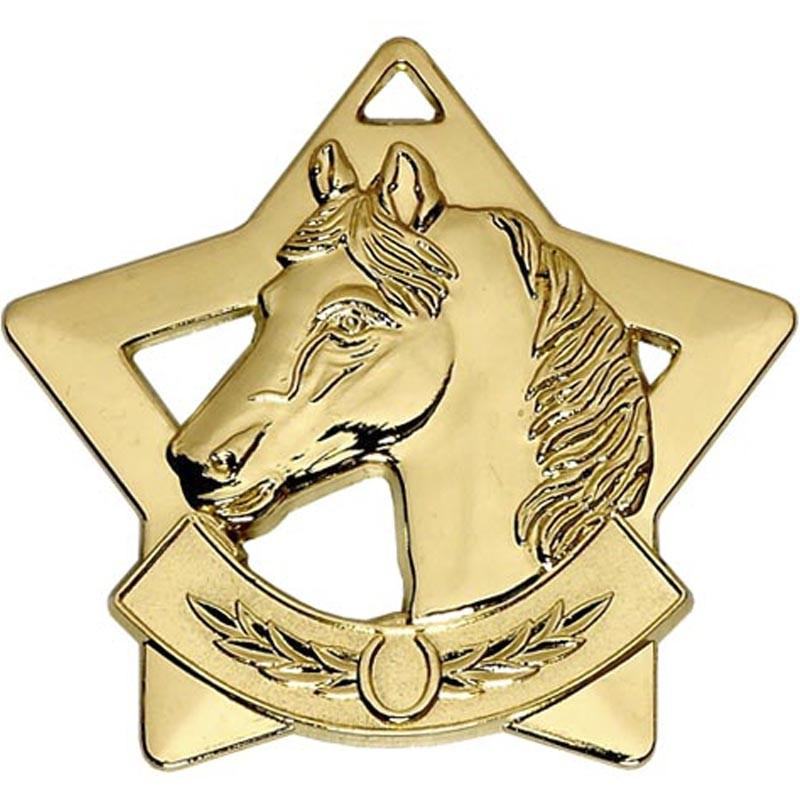 Mini Star Horse Medal
