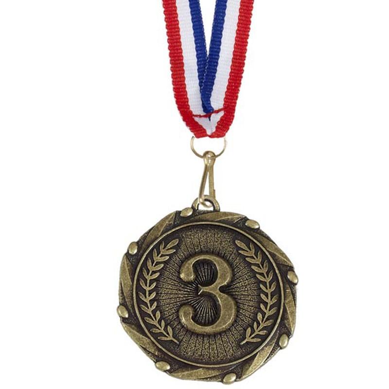 Combo45 3rd Medal & Ribbon