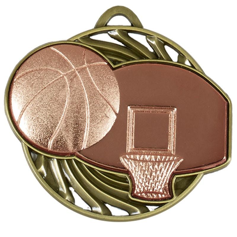 Vortex Basketball Medal